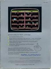 Adventures Of Tron - Back | Adventures of Tron Atari 2600