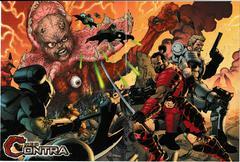 Artwork - Back, Front (Flip-Side)   Neo Contra Playstation 2