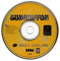 Game Disc | Gun Griffon Sega Saturn