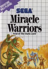 Miracle Warriors Sega Master System Prices