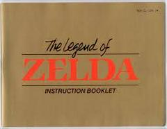 Legend Of Zelda - Instructions | Legend of Zelda [Gray Cart] NES