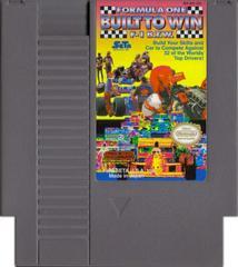 Cartridge | Formula One Built To Win NES