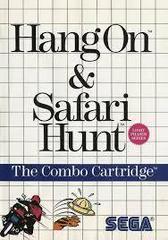 Hang-On And Safari Hunt - Front | Hang-On and Safari Hunt Sega Master System