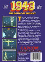 1943 - Back | 1943: The Battle of Midway NES