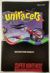 Manual   Uniracers Super Nintendo