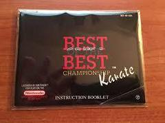 Best Of The Best Championship Karate - Instruction | Best of the Best Championship Karate NES