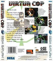 Back Of Box | Virtua Cop Sega Saturn