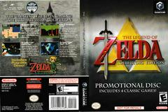 Artwork - Back, Front | Zelda Collector's Edition Gamecube