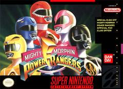 Mighty Morphin Power Rangers Super Nintendo Prices