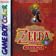 Zelda Oracle of Seasons PAL GameBoy Color Prices