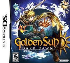 Case - Front   Golden Sun: Dark Dawn Nintendo DS