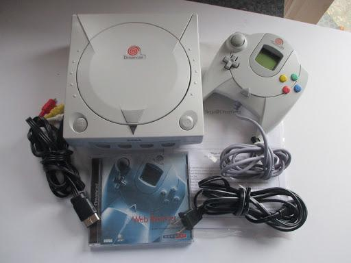 Sega Dreamcast Console photo