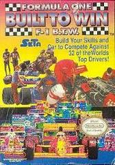 Formula One Built To Win - Front | Formula One Built To Win NES