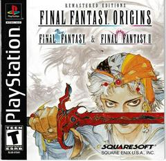 Manual - Front | Final Fantasy Origins Playstation