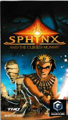 Manual - Front | Sphinx and the Cursed Mummy Gamecube