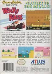 Wacky Races - Back   Wacky Races NES