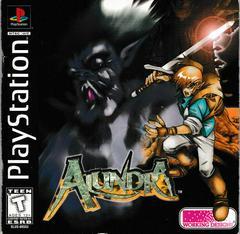 Manual - Front | Alundra Playstation