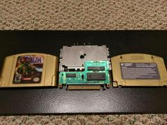 Cartridge Labels And Board Front | Zelda Majora's Mask Nintendo 64