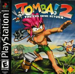 Manual - Front | Tomba 2 The Evil Swine Return Playstation
