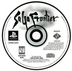Game Disc   Saga Frontier Playstation