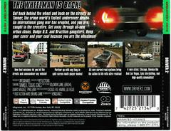 Back Of Case | Driver 2 [Greatest Hits] Playstation