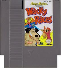 Cartridge   Wacky Races NES