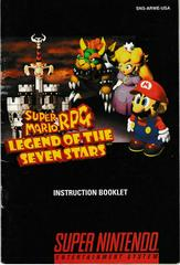 Manual - Front | Super Mario RPG Super Nintendo