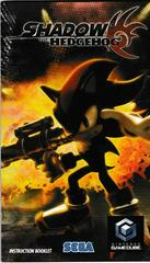 Manual - Front   Shadow the Hedgehog Gamecube