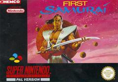 First Samurai PAL Super Nintendo Prices