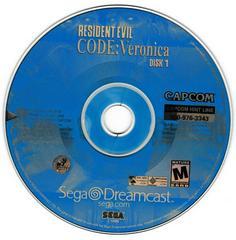 Game Disc 1 | Resident Evil CODE Veronica Sega Dreamcast