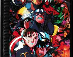 Back Of Case - Inside   Marvel Super Heroes vs. Street Fighter Playstation