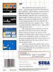 Alf - Back | Alf Sega Master System