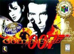007 GoldenEye [Player'S Choice] - Front   007 GoldenEye [Player's Choice] Nintendo 64