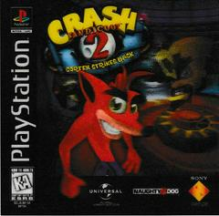 3D Lenticular Card | Crash Bandicoot 2 Cortex Strikes Back Playstation