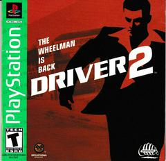 Manual - Front | Driver 2 [Greatest Hits] Playstation