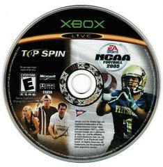 Game Disc | NCAA Football 2005 Top Spin Combo Xbox