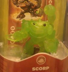 Scorp - Swap Force, Green Skylanders Prices