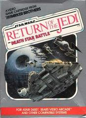 Star Wars Return of the Jedi Death Star Battle Atari 2600 Prices