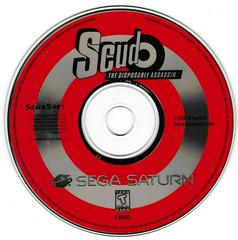 Game Disc | Scud The Disposable Assassin Sega Saturn