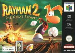 Rayman 2 The Great Escape PAL Nintendo 64 Prices