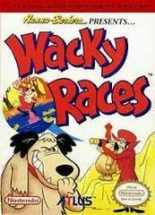 Wacky Races - Front   Wacky Races NES