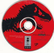 Jurassic Park Interactive - Disc | Jurassic Park Interactive 3DO