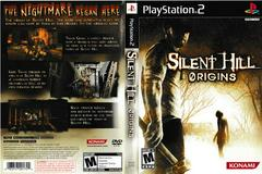 Artwork - Back, Front | Silent Hill Origins Playstation 2