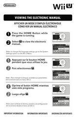 Manual - Front | Super Mario Maker Wii U