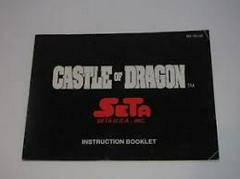 Castle Of Dragon - Instructions   Castle of Dragon NES