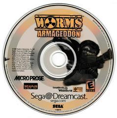 Game Disc | Worms Armageddon Sega Dreamcast