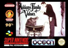 Addams Family Values PAL Super Nintendo Prices