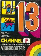 Videocart 13 Fairchild Channel F Prices
