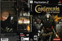 Artwork - Back, Front | Castlevania Curse of Darkness Playstation 2