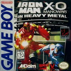 Iron Man X-O Manowar in Heavy Metal PAL GameBoy Prices